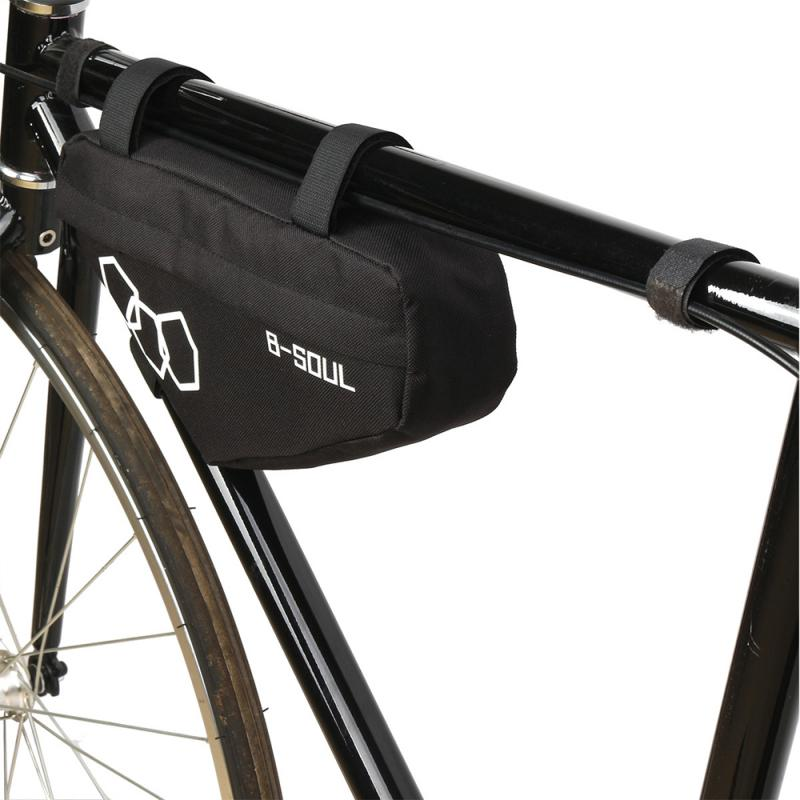 Waterproof Bike Triangle Bag Cycling Bicycle Double-layer Frame Front Tube #Buy