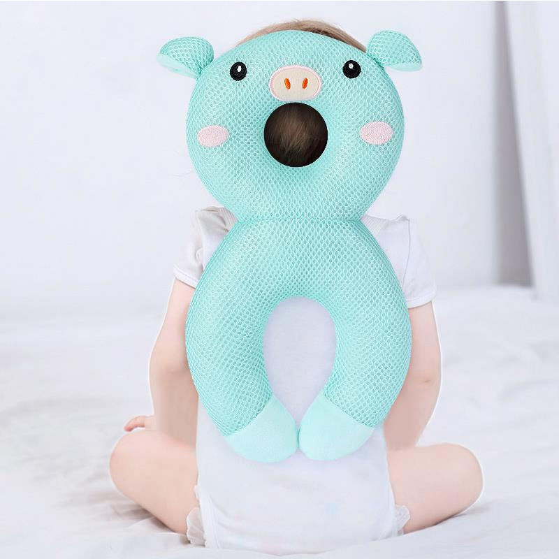 Baby Anti-Fall Head Protection Cushion for Learning Walk Sit Infant Head Back Protector Pillow Kids Anti-Collision Safety Stuff