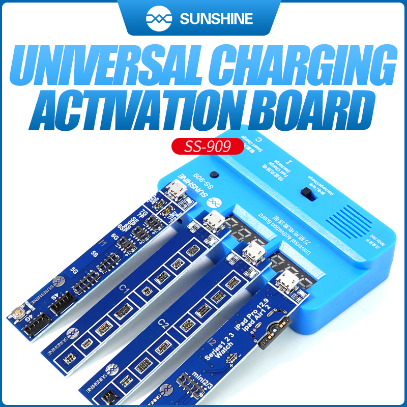Universal Battery Activation Circuit Board Ss-909 Phone Battery Charger For Iphone Samsung Huawei Xiaomi Ipad Battery Tester