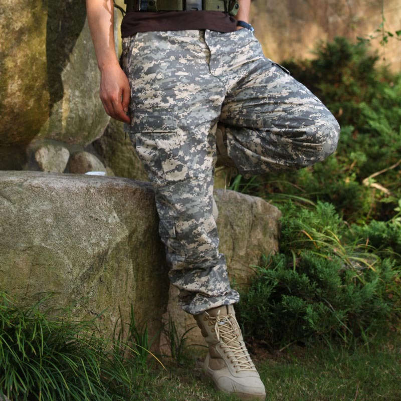 WZJP Wzjp Workwear China Camouflage Pants Casual China Pants Bags China Loose-Fit Army Fans Training Pants