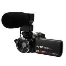 FULL-Video Camera 1080P Full Hd Portable Digital Video Camera 2400W Pixel 8X Digital Zoom 3.0 Inch P