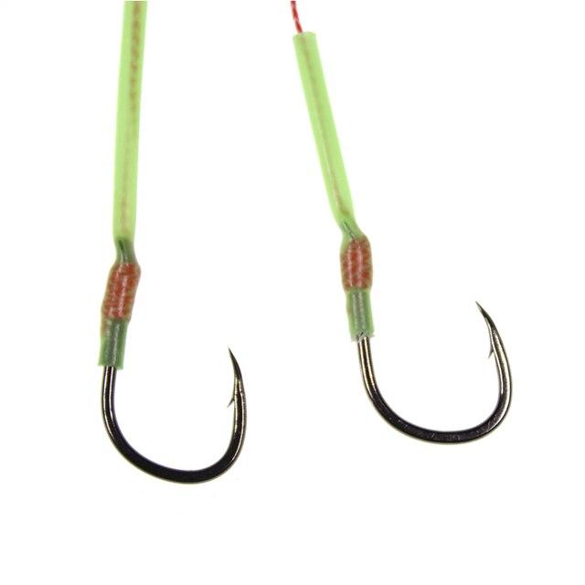 Rigs 20 Pcs Luminous Rig Beads 5mm Traces Sea Fishing Terminal Tackle