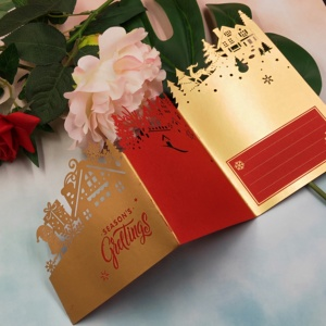 Image 3 - Christmas card metal cutting knife die 2019 new DIY scrapbook, used for card paper card decoration mold