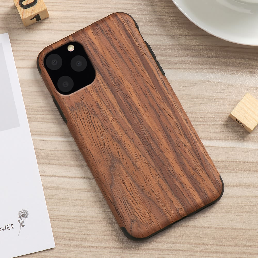 H22f4a0cf46bd4bf1a6bf329830b982f8P LAPOPNUT Case for Iphone 11 Pro Xs Max Xr X 7 8 Plus 6 6s 5 5s SE Apple Wood Grain Flexible TPU Silicone Hybrid Slim Cover Coque