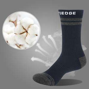 Image 2 - YUEDGE Thương Hiệu 5 Đôi Tất Nam Cotton Đệm Thoải Mái Phong Cách Doanh Nhân Thủy Thủ Đoàn Đầm Tất