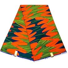 Африканский высокое качество Анкара Pagne настоящая Гарантированная голландская восковая ткань с принтом для модной одежды Дашики африканская ткань