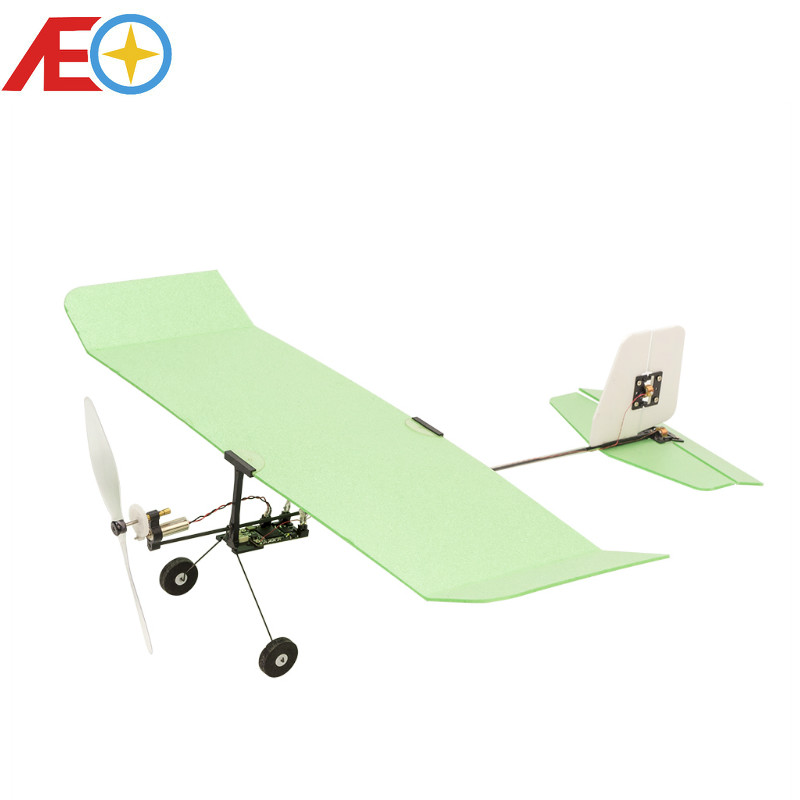2019 New Indoor Micro Ultra light Foam Airplane Ice Cream Wingspan 224mm Flying Weight only 6g PNP Version-in RC Airplanes from Toys & Hobbies    1