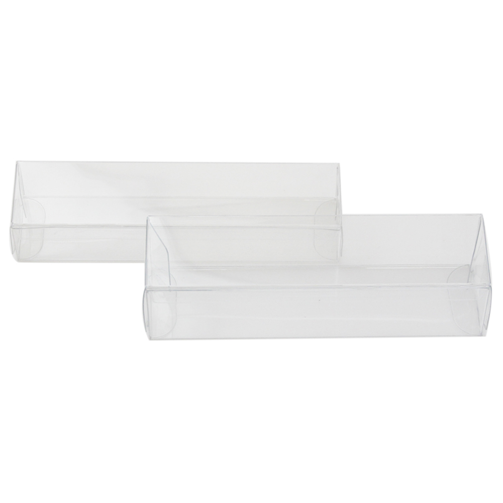 10 Pcs PVC Clear Toy Car Model 1/64 Dust Proof Display Protection Box Storage Box Gift For Kids Children New