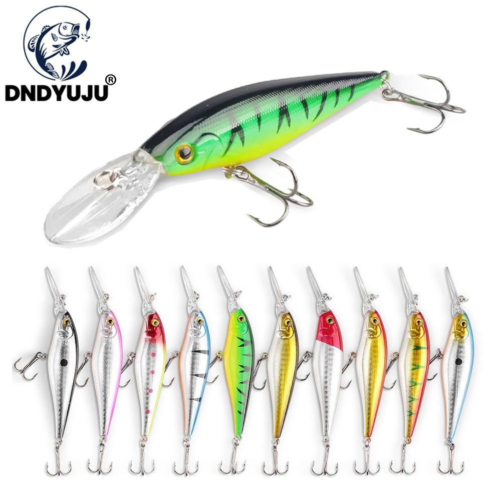1pcs 11cm 10.5g minnow fishing lures plastic baits hard lures fishing hooks TO
