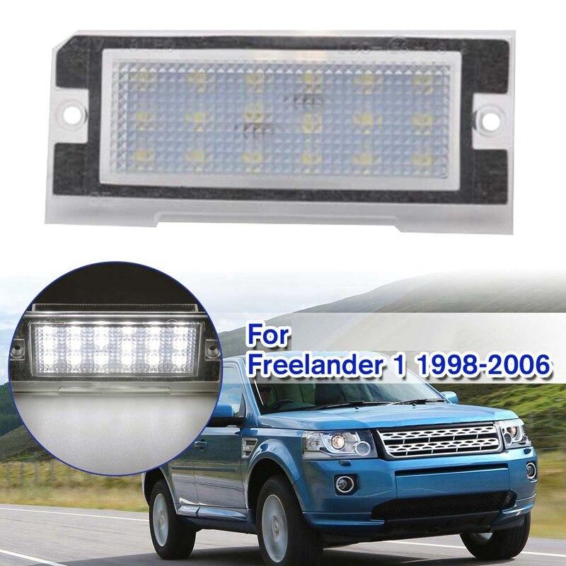 Car LED License Plate Light For Land Rover Freelander 1 1998-1999-2000-2001-2002-2003-2004-2005-2006
