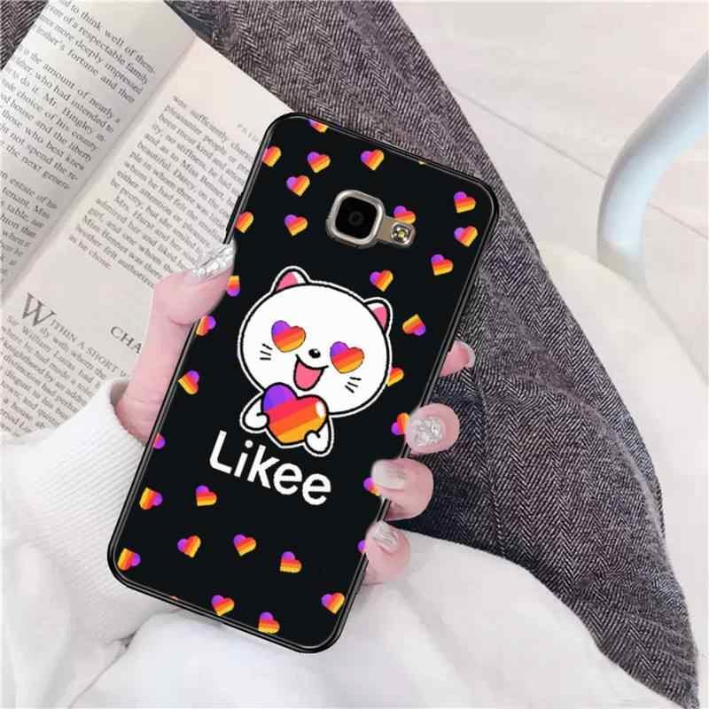 FHNBLJ Likee מצחיק חתול דוב אהבת לב DIY הדפסת טלפון Case כיסוי עבור סמסונג A10 20s 71 51 10 s 20 30 40 50 70 A30s A91 A31