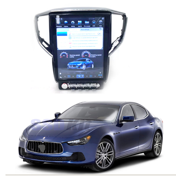 Car Android Internet Multimedia Navi For Maserati Ghibli M157 S Q4 GPS Audio Stereo CarPlay 360 Bird View Navigation System image