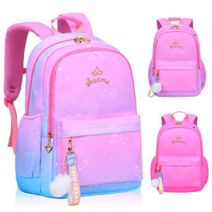 Orthopedic Backpack Mochila Schoolbag Satchel Girls Kids Princess Infantil