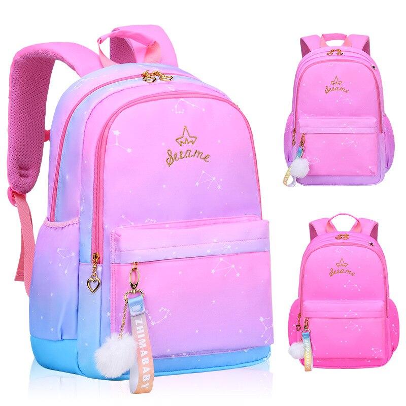 2020 Children School Bag Girls Kids Satchel Primary School Backpack Princess Orthopedic Backpack Schoolbag Kids Mochila Infantil