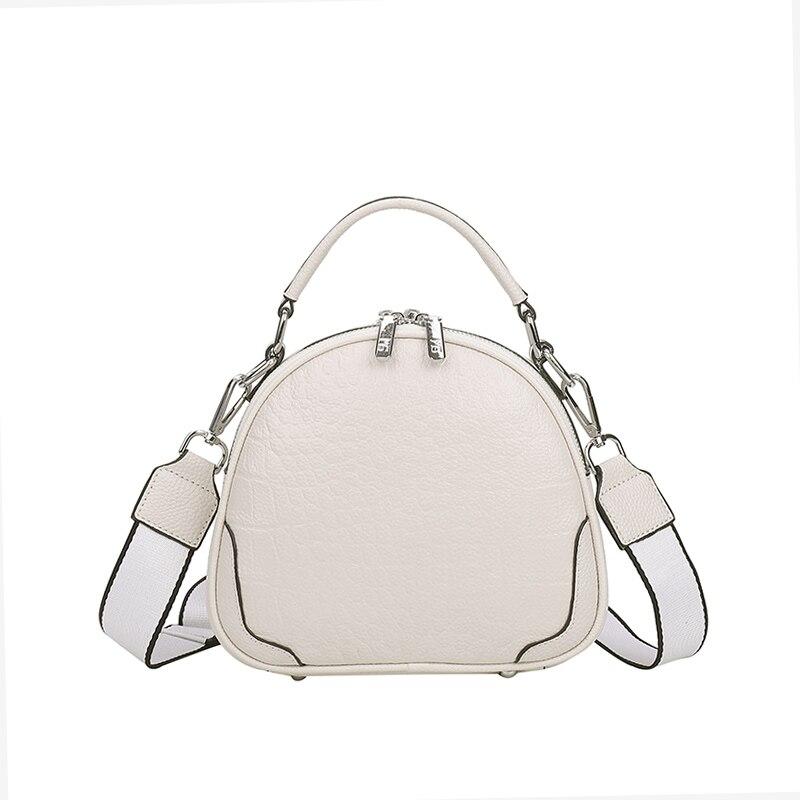 Genuine Leather Female Women's Shoulder Bags 2021 Summer New Ladies  Luxury Designer Clutch Bag Fashion Cross Body Belt Bag