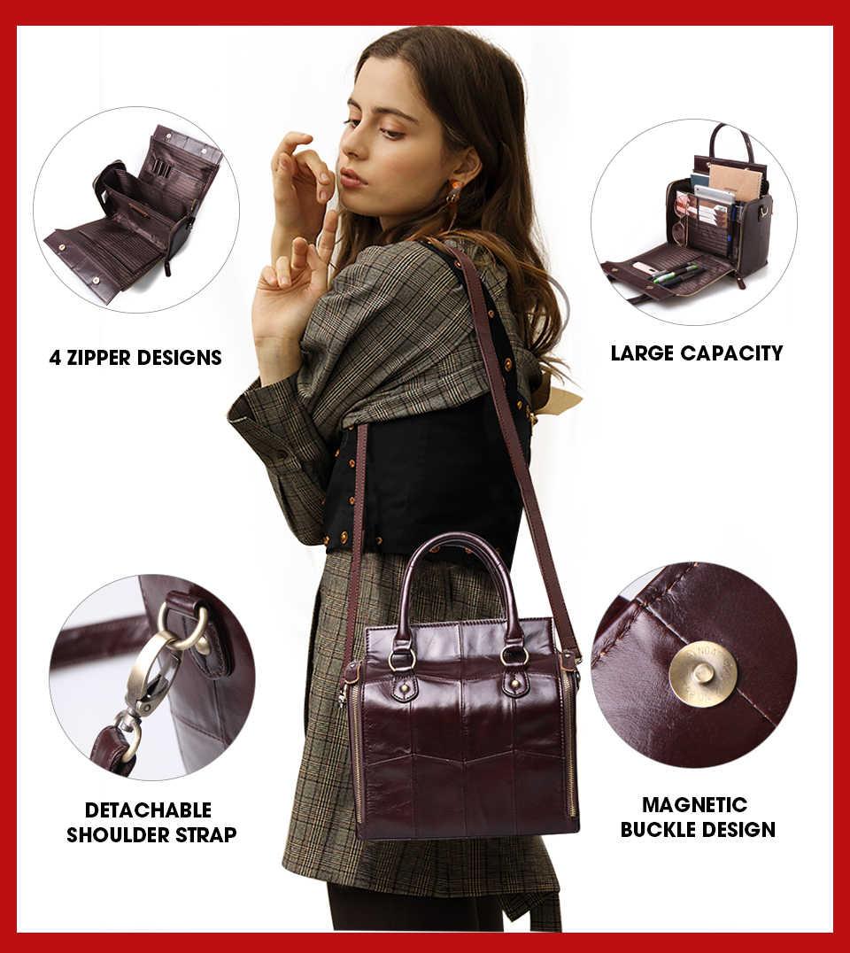 Schoenmaker Legende Top Handvat Tassen Echt Lederen Handtas Zomer Mode Schouder Voor Vrouwen 2020 Vintage Designer Brand Crossbody