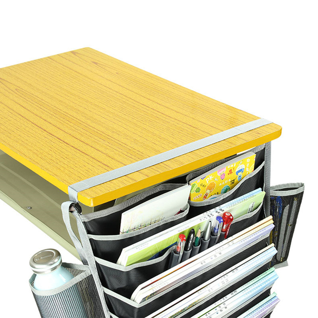 Multifunctional Desk Book Organizer Hanging Bag