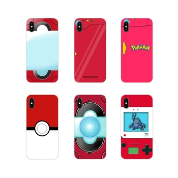 Pour Red Pokedex Alt Art Poster For Xiaomi Redmi 4A S2 Note 3 3S 4 4X 5 Plus 6 7 6A Pro Pocophone F1 Transparent TPU Shell Cover image