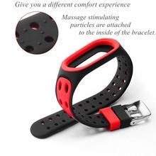 Bracelet Silicone Strap For Xiaomi Mi Band 3 Watch Straps Silicone Smart Band Accessories Bracelet Sport Replacement L3X0