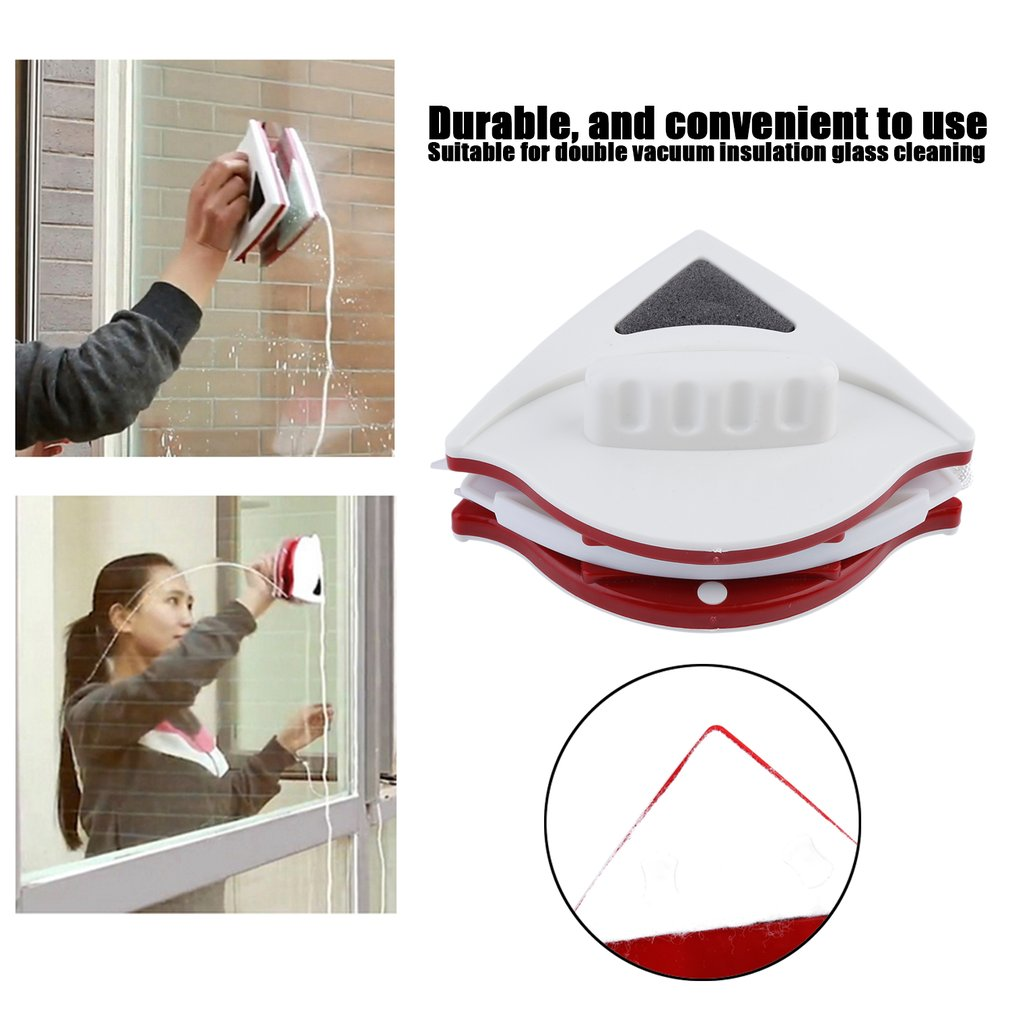 Convenience Adjustable Double Faced Glass Cleaner Magnetic Window Suitable For 15-22mm Double-Layer Hollow Glass Cleaning Tools