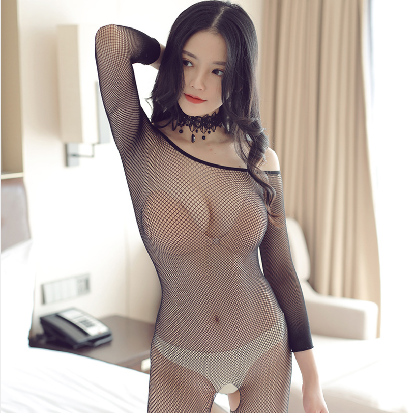 Fishnet Teddy Bodysuits catsuit Sexy Lingerie Women Erotic Underwear Bodystockings Baby Doll Intimates Mesh Body Sexy Stockings 6