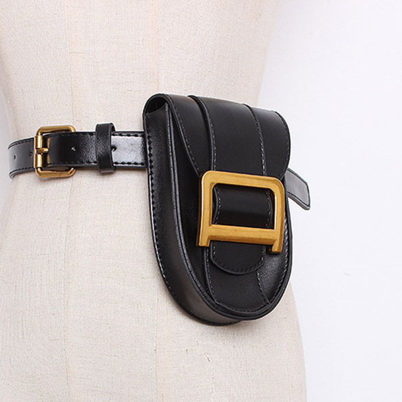Waist Bag Women PU Leather Fashion Fanny Pack High Quality Mini Chest Belt Bags Ladies Travel Bum Packs Small Phone Bag Purse