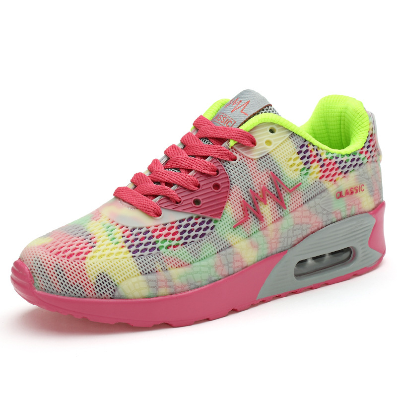 Running Women's Shoes 2019 Breathable Comfortable Women's Shoes Sneakers Women Designer Sport Shoes Zapatillas Mujer Deportiva