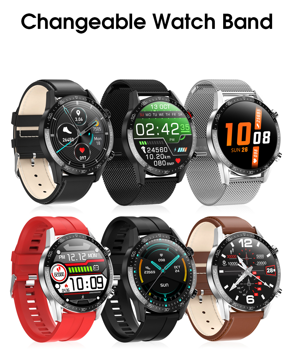 H22f760d05cbf46569c0ba04874d60cf5l Timewolf IP68 Smart Watch Men Android 2020 Full Touch Smartwatch Men Women Smart Watch For Huawei Xiaomi Apple IOS Android Phone