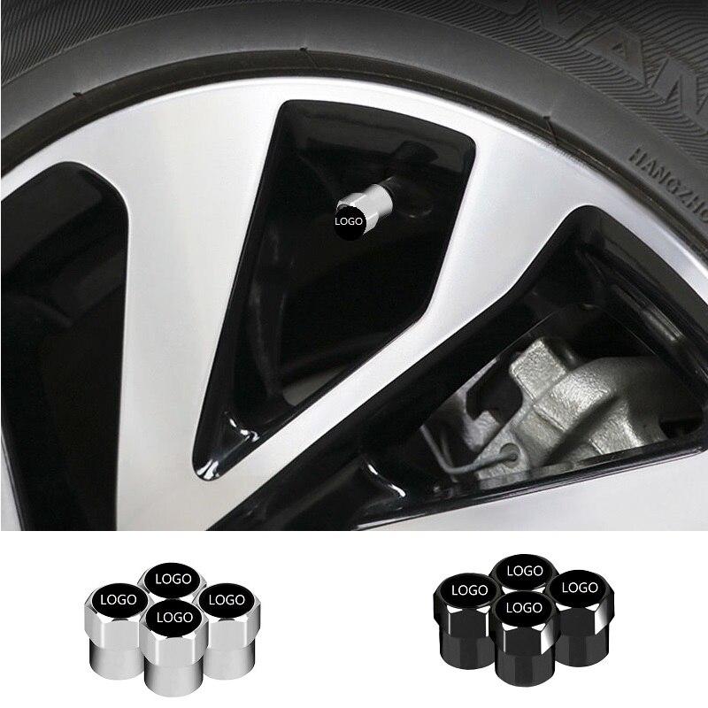 4 шт. для Volvo V40 V60 C30 S60 S80 S90 XC60 аксессуары для стайлинга автомобиля Герметичная крышка клапана автомобиля