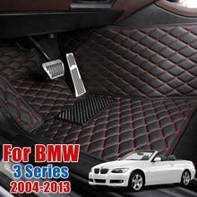 Кожаные автомобильные коврики для BMW 3 серии E93 318i 320i 325i 330i 335i 320d 330d 335d Кабриолет пользовательские коврик для ног ковровое покрытие