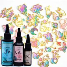 UV Resin Ultraviolet Curing Epoxy Resin Hard Crystal Clear Resin  Jewelry Making 203C