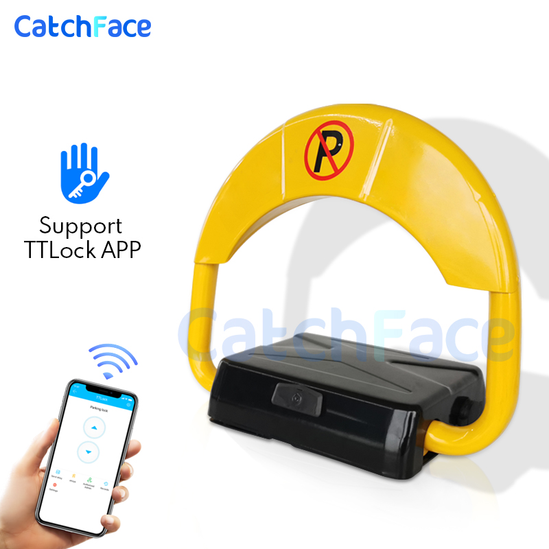 TTlock App Parking Lock  Waterproof Smart Lock  Garage Automatic Electronic Lock   Car Intelligent Remote Control