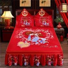 Мягкое шлифованное покрывало на кровать, плотное покрывало, покрывало на кровать размера King queen, свадебное покрывало на кровать