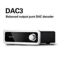 DAC3 MINI USB DAC CSS XMOS XU208 ES9028Q2M OPA111 audio amplifier Decoder XRL out