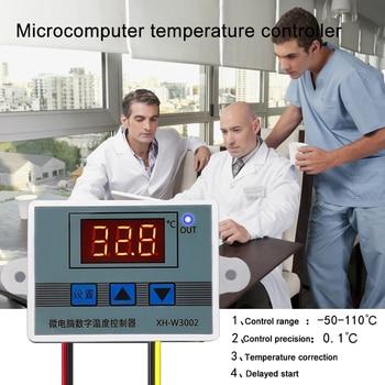 XH-W3002 Microcomputer Digital Thermostat Temperature Control Switch 110V-220V 1500W DIY Controller Electronics