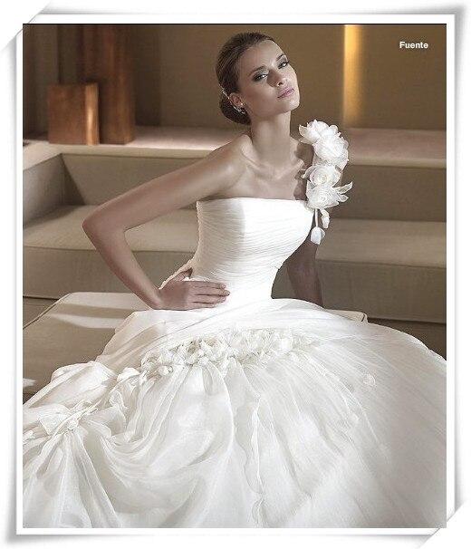 Free Shipping Casamento Vestido De Noiva 2018 New Fashion Romantic Organza Brides Bridal Ball Gown Mother Of The Bride Dresses