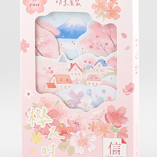143mmx93mm flower time paper postcard(1pack=30pieces)