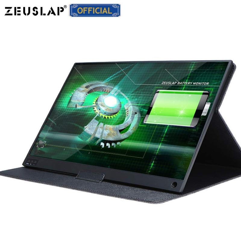 15.6 polegadas built-in bateria ultrafinos fhd ips usb c hdmi suporte de tela de monitor portátil para nintendo switch ps5 macbook