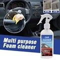 1 шт. 100 мл Автомобильный многофункциональный пенный очиститель на все случаи жизни, очиститель воды авто Интерьер чистящее средство для дом...
