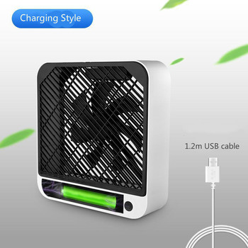 New Air Cooler Fan Strong Wind Portable Fan Cooler Air Usb Charging Powered Low Noise Air Conditioner Fan For Home Office Desk