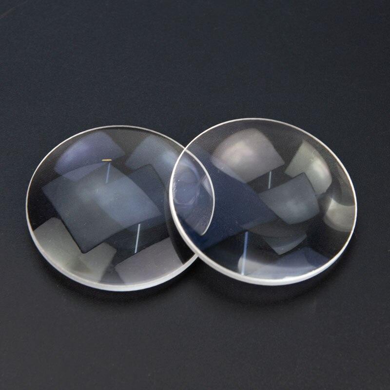 2 pezzi 42 diametro K9 vetro ottico lunghezza focale 65mm doppia - Strumenti di misura - Fotografia 6