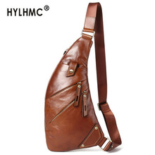 Bags 2020 New Trend Leather Men Chest Bag
