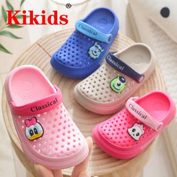 Buty dziecięce skórzane buty dziecięce letnie dziewczynek sandały buty Skidproof Toddlers moda dziecięce dziecięce buty letnie buty Anime tanie i dobre opinie RUBBER W wieku 0-6m 7-12m 13-24m 25-36m 3-6y 7-12y 12 + y CN (pochodzenie) Lato Mężczyzna Miękka skóra Płaskie Obcasy