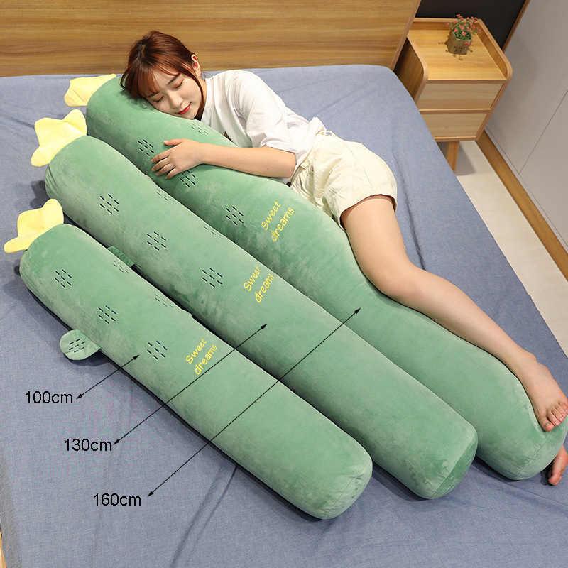 Karikatür Uzun Uyku destek yastığı Hamile Vücut Boyun Yastık Yastık Yatak Yastık Servikal Yastık Yastık Sağlık için