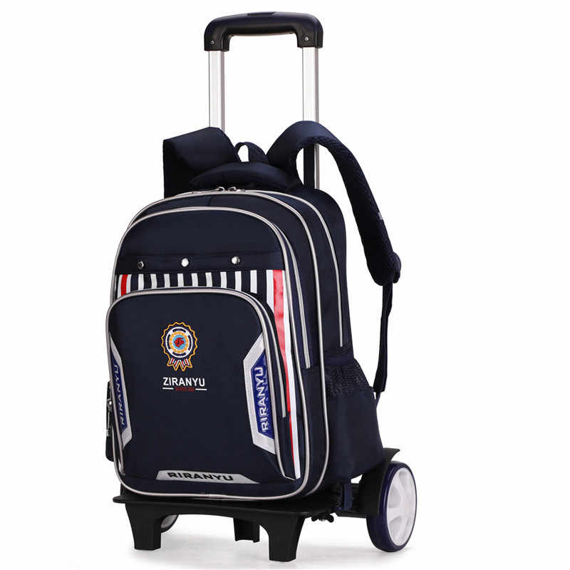 2/6/duże koła wymienny na kółkach na kółkach plecak o dużej pojemności torby szkolne dla dzieci chłopcy dzieci odpinany Mochilas Escolares