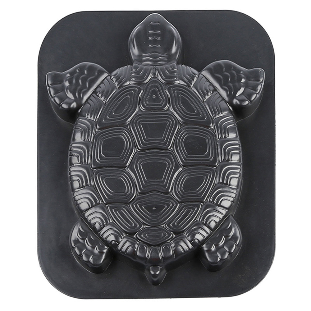Concrete Cement Outdoor Stepping Stone Manual Reusable Driveway Turtle Shape Paving Mold Garden Decor