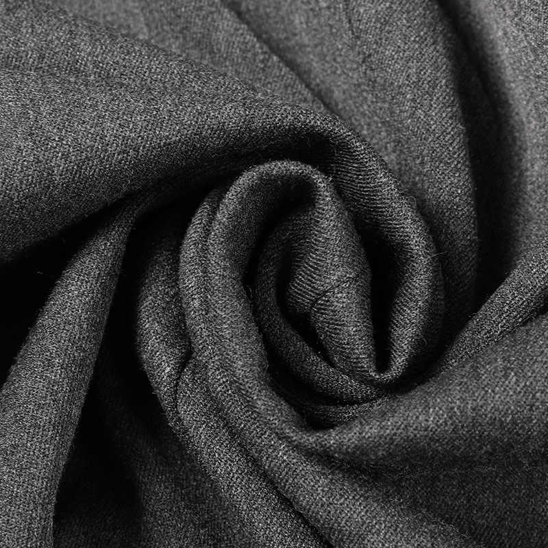 Мужские блейзеры, черные, серые, 2 цвета, Осенний деловой офисный костюм для отдыха, куртки, американский мужской однотонный Блейзер на одной пуговице