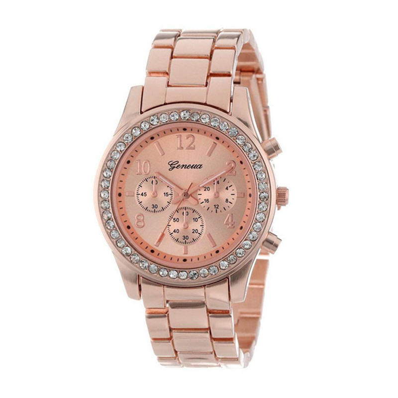 New Geneva Classic Luxury Rhinestone Watch Women Watches Fashion Ladies Women's Clock Reloj Mujer Relogio Feminino