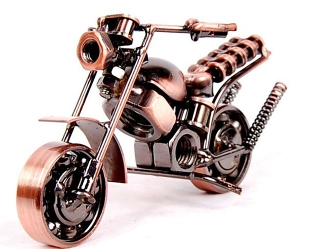 Home Decoratie Accessoires Voor Woonkamer Motorfiets Model Ornamenten Metalen Retro Motor Voor Gift Home Decoratie Accessoires Figurines Miniatures Aliexpress