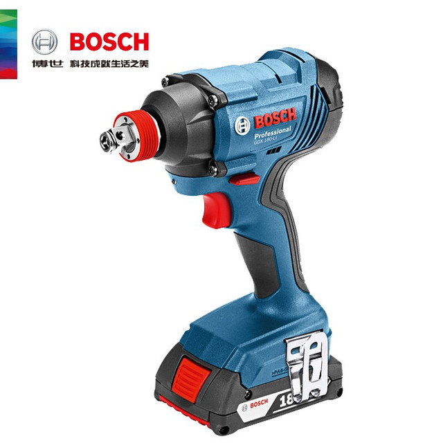 Bosch Original 18V Cordless Electric Impact Wrench Driver Socket Wrench Lithium Battery Hand Drill Installation Power Tools 2